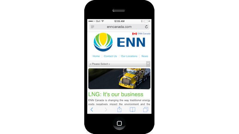 ENN Mobile Site