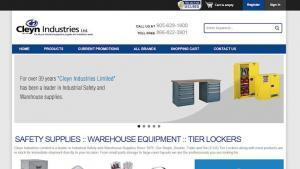 Cleyn Industrial Safety Lockers Warehouse Equipment
