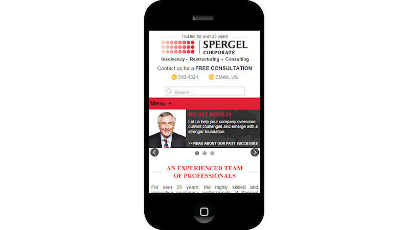 spergel corporate website
